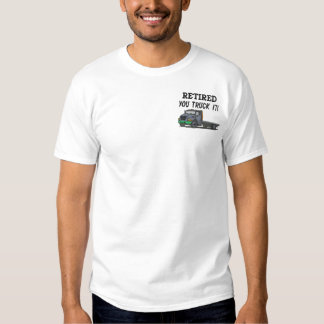 Truckers Embroidered Shirt