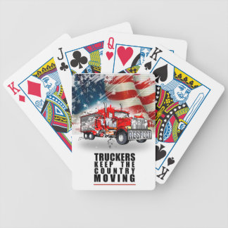 Trucker's Keep This Country Moving Playing Cards