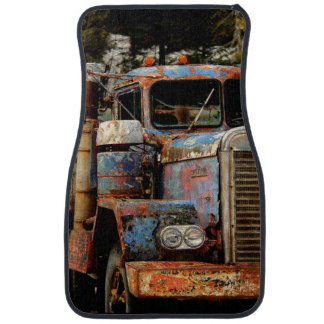 Truckers Never Die Car Mat