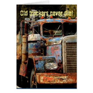 Truckers Never Die Card