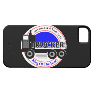 Truckers Novelty King Of The Road Graphic iPhone 5 Covers