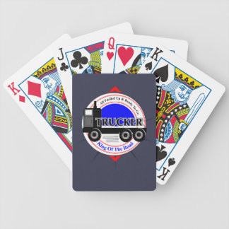 Truckers Novelty King Of The Road Graphic Poker Deck