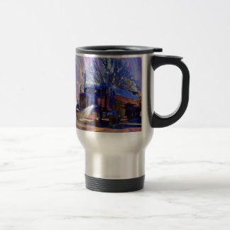 Truckers Tanker Lorry Heavy Transport Gift Travel Mug