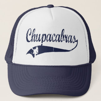 Trucking Chupacabra Trucker Hat