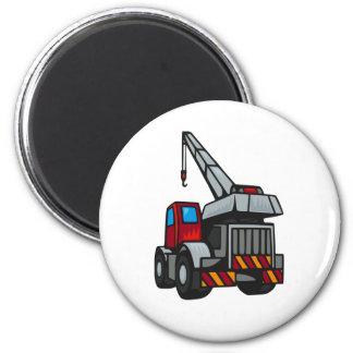 Trucks! 2 Inch Round Magnet