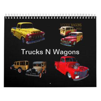Trucks N Wagons Calendar