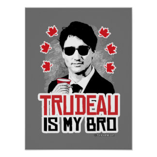 Trudeau is my Bro Poster
