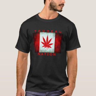 TRUDEAU POT NATION T-Shirt