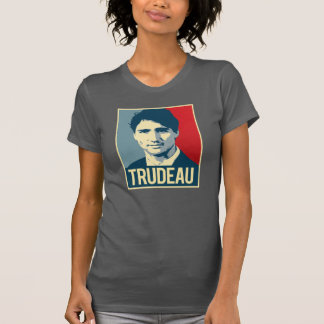 Trudeau Propaganda Poster -.png T-Shirt