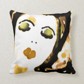 """"""" Trudy """" 50's Lady Throw Pillow"""
