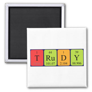 Trudy periodic table name magnet