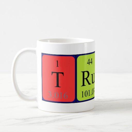 Trudy periodic table name mug