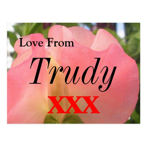 Trudy Post Cards