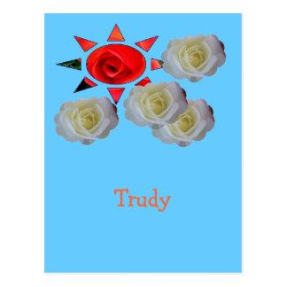 Trudy Postcard