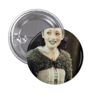 Trudy The Tribe 1 Inch Round Button