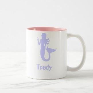 Trudy Two-Tone Coffee Mug