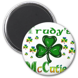 Trudys McCuties 2 Inch Round Magnet