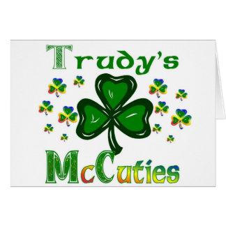 Trudys McCuties Greeting Card