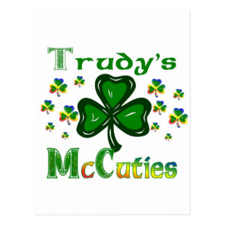 Trudys McCuties Postcard