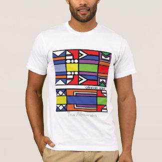 True African spirit Zulu design T-Shirt