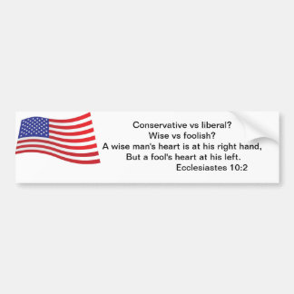 True American Bumper Sticker