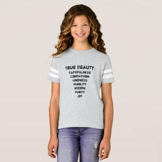 True Beauty Girl's Jersey T-Shirt