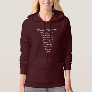 True Beauty Women's Hoodie