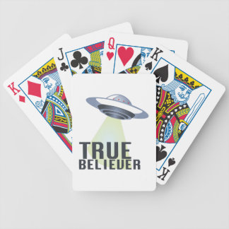 True Believer Bicycle Playing Cards