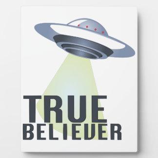 True Believer Plaque
