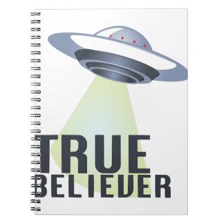 True Believer Spiral Notebook
