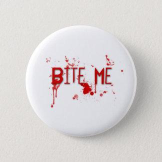 """True Blood """"Bite Me"""" 2 Inch Round Button"""