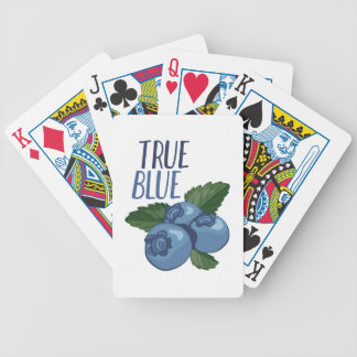 True Blue Bicycle Playing Cards