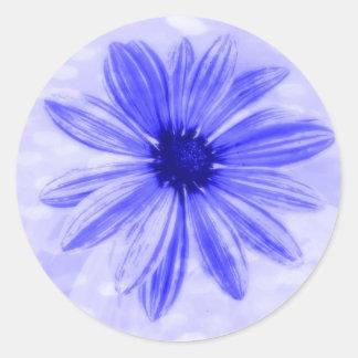 True Blue Daisy stickers