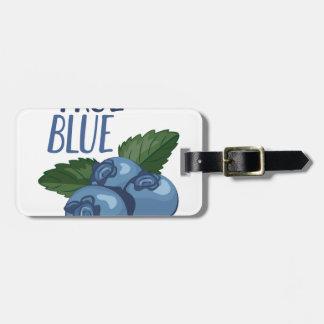 True Blue Luggage Tag