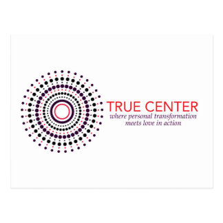 True Center Products Postcard