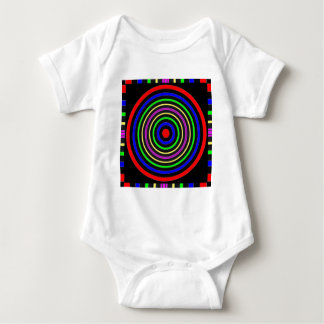 TRUE Color Meditation Mandala Evolution Revolution Baby Bodysuit