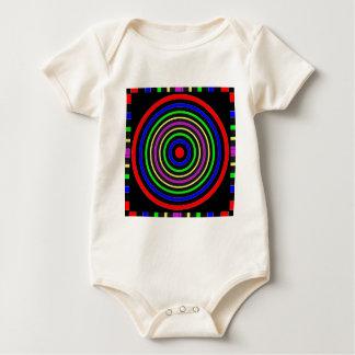 TRUE Color Meditation Mandala Evolution Revolution Baby Creeper