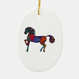 True Colors Ceramic Ornament