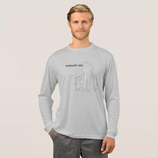 True Daddy Long Sleeve Logo T-Shirt