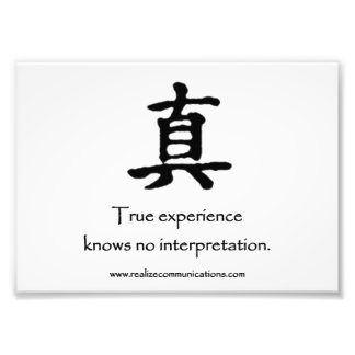 True Experience MOUSE PAD Photo Print