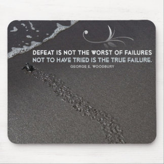 True Failure Inspirational Mouse Pad