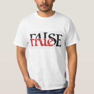 True False T-Shirt