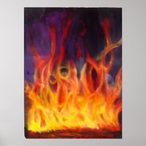 True Fire Poster