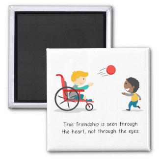True friendships magnet