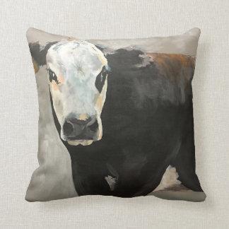 True Grit Cow Western Pillow