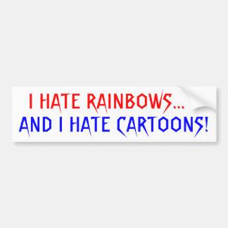 True Hater Car Bumper Sticker