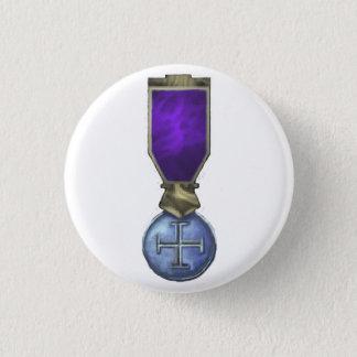 True Iron Cross 1 Inch Round Button