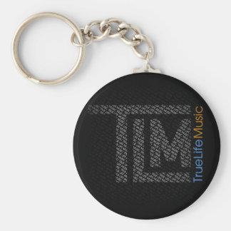 True Life Music Keychain
