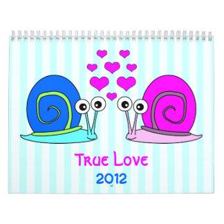 True Love 2012 Wall Calendar
