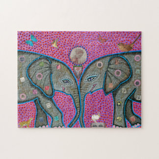 True Love African Elephants Puzzle